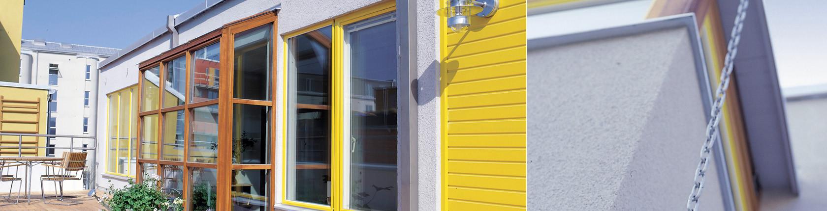 En husfasad som är byggd med Ytong lättbetong från Xella.